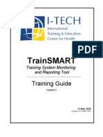 Train Smart Training Manual