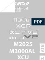 2010 Owners Manual Raidon Xcr Xcm Xct m Xcu