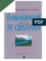 Los Fundamentos de La Fe Cristiana - J. M. Boice - 1