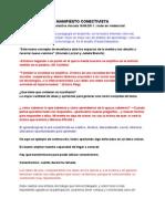 Manifiesto Conectivista en Redeschat - escritura colectiva