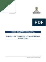NRC Manual de Funciones Del Coordinador Municipal