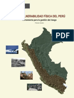 Memoria Descriptiva - Mapa de Vulnerabilidad Fisica Del Peru
