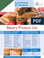 Bakert Product List - 2008