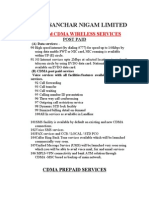 Services-MSC Based WLL