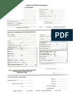 ITA Form Sample
