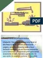 Presentacion Acido sulfurico.