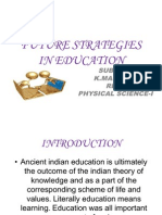 Future Strategies in Education 2003