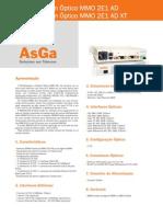 . Data Sheets Acesso Familia PDH MMO2E1Ad MMO2E1Ad PT