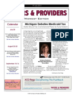 Payers & Providers Midwest Edition – Issue of July 19, 2011