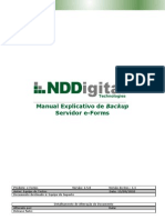 Manual Explicativo de Backup Servidor e-Forms 2.5.0 (versão doc 1.1)