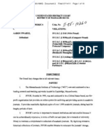 Aaron Swartz indictment