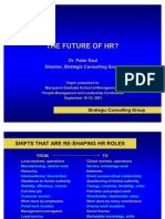 5 the Future of Hr Dr Peter Saul Power Point Presentation 2163