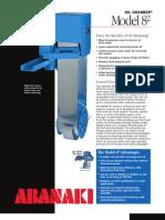 Oil Grabber Model 8, Belt Oil Skimmer | Abanaki Corporation