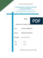 Análisis económico del derecho de los contratos