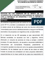 Punto de Cuenta de Las Fabricas Vzla-Argentina-Iran 1