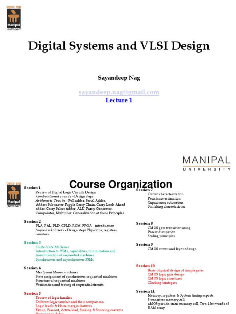 Dsvd Lecture1 Cmos Logic Gate Comparator Circuit