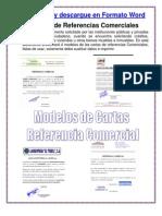 MODELO CARTA DE RECOMENDACION COMERCIAL