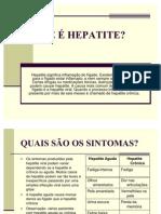 O QUE É HEPATITE