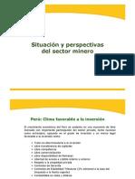 Situación y perspectivas del sector minero