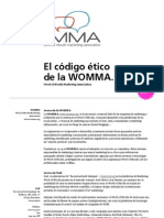 Womma Ethics Trnd Publication