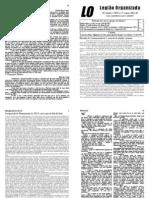 Vigésima Sexta Edição do Jornal da LO