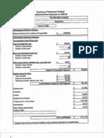 2009 Fiesta Bowl NCAA Expense Report--Ohio State