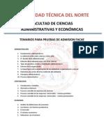 Temarios Pruebas Admision FACAE(2)