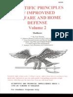Scientific Principles of Improvised Warfare and Home Defense - Vol 2 - More Basics - Tobiason