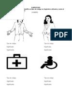 Ejercicios comunicación no lingüística