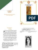 I y II Vísperas gregorianas del Apóstol Santiago, Patrono de España. Forma Extraordinaria del Rito Romano
