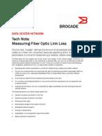 Measuring Optical Link Loss GA-TN-048-00