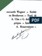 Wagner, Scritti su Beethoven