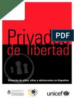 ARGENTINA Niños Privados de Libertad