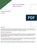 ESTRATEGIAS DE COMUNICACIÓN POLÍTICA PARA PARLAMENTOS
