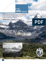 The State of the Mountains Report (Alpine Club of Canada)