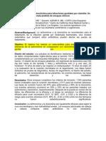 Azitromicina Versus Doxiciclina Para Infecciones Genitales Por Clamidia