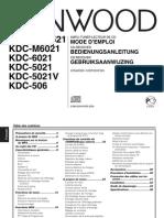 Kenwood  KRC 5021