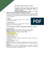 Chamada Publica 06 2011[1] CDT CONTEUDO