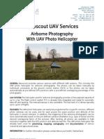 Aeroscout UAV Service Brochure