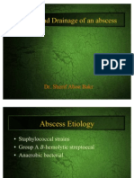 Incision and Drainage of an Abscess by Sherif Abou Bakr