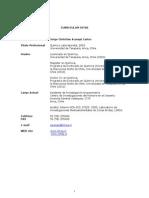 Currículum Jorge Acarapi