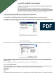 Installation Und Integration Von PHP Und MySQL Unter Windows Server 2003