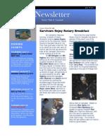 Rotary Newsletter Jul 19 2011