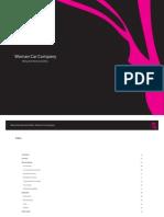 Assinatura Gráfica Woman Car Company (Curricular)