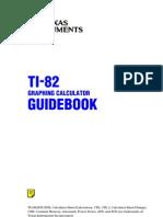 TI-82 Guidebook