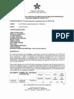 Actas de Seleccion de Contratistas Segundo Semestre 2011