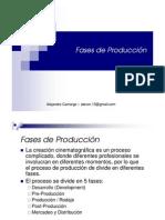 Fases de Producción Cinematográfica
