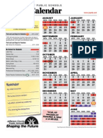 Calendar Relationships Parenting Child Care