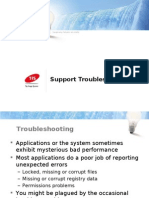 TiS General Support Troubleshooting
