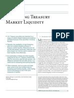 Measuring Treasury Market Liquidity Fleming 489E2d01